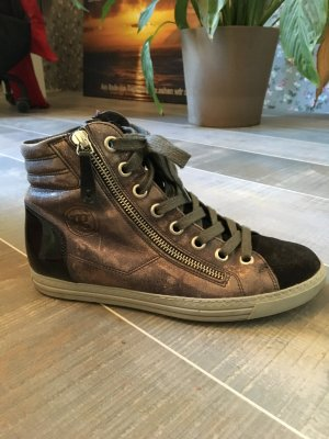 Paul Green Sneaker schwarz Glitzer Gr. 37