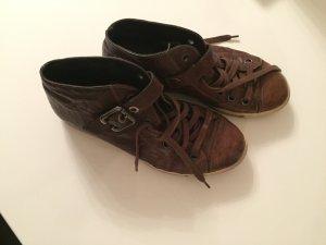 Paul Green Sneakers,Leder braun
