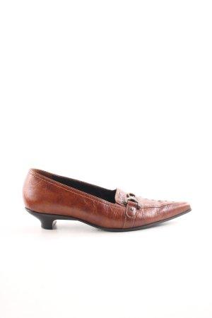 Paul Green Spitz-Pumps bronzefarben-hellorange Business-Look
