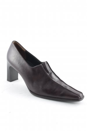 Paul Green Spitz-Pumps braun Business-Look