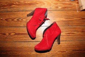 Paul Green - Stiefel - Absatz - Rot