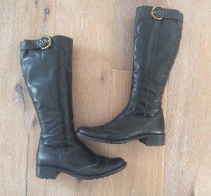 Paul Green Stiefel Gr. 38,5 schwarz Leder Gr. 5,5 NP €199