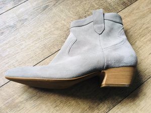 Paul Green Western Booties grey suede