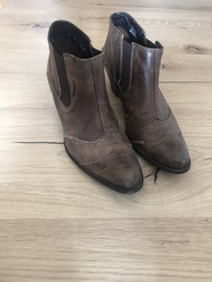 Paul Green Slip-on Booties taupe