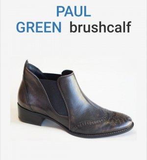 Paul Green Stiefelette, Chelsea-Boot, brushcalf