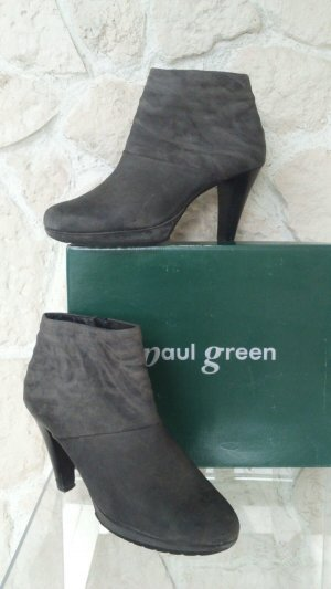 PAUL GREEN Stiefelette | Neupreis: 139,90 € | Grau, Leder, Used Optik