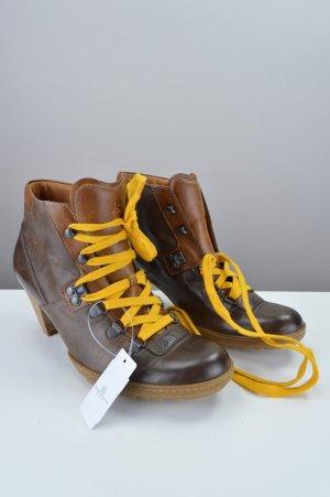 Paul Green Stiefeletten Ankle Boots Echtleder braun Größe 38