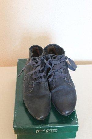 Paul Green Stiefeletten blau Gr.36 leichte Farbunterschied