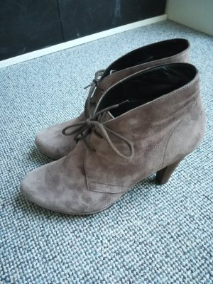 Paul Green Lace-up Booties grey