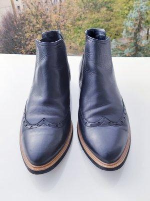 Paul Green Stiefeletten in Größe 40,5 Schwarz, aus Leder