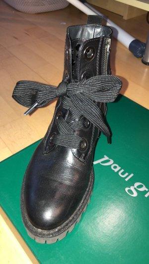 Paul Green Stiefeletten schwarz