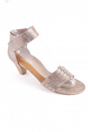 Paul Green Stiefeletten silberfarben-bronzefarben Elegant