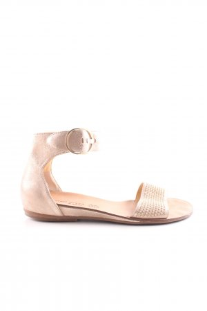 Paul Green Beach Sandals gold-colored casual look