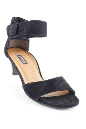 Paul Green T-Strap Sandals black elegant