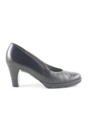 Paul Green Loafers zwart zakelijke stijl