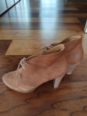 Paul Green Lace-up Pumps light brown
