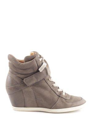 Paul Green Wedge Sneaker bronzefarben Casual-Look