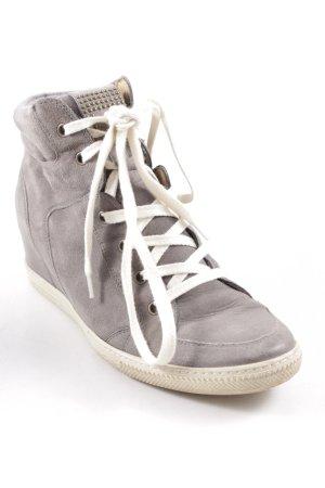 Paul Green Wedge Sneaker grau Casual-Look