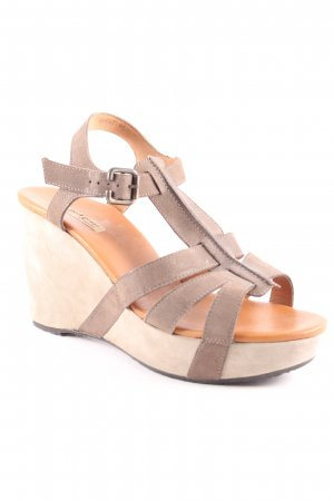 Paul Green Wedge Sandals multicolored