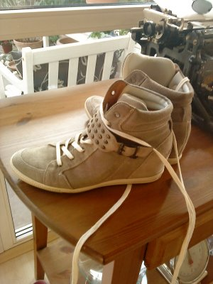 Paul Green Wedges Sneakers in beige Größe 40,5
