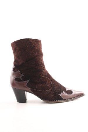 Paul Green Western Booties brown extravagant style