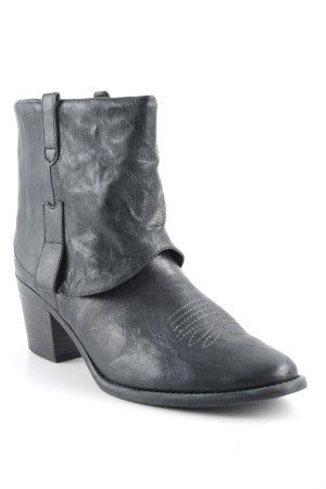 Paul Green Western-Stiefeletten schwarz Casual-Look
