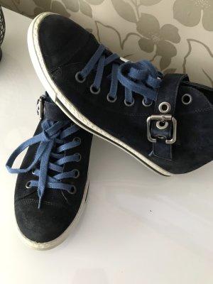 Paul Green Wildleder Leder Schuhe Chucks Gr 37