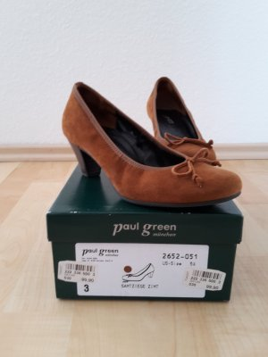 Paul Green Wildleder Pumps braun (zimt)
