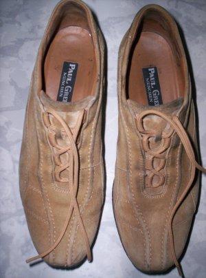 PAUL GREEN  Wildleder-Schuhe, Schnürschuh, braun Gr. 4 1/2 (entspr.Gr. 39)