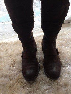 Paul Green Wildleder Stiefel Größe 41 braun