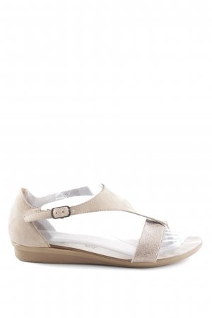 Paul Green Toe-Post sandals natural white-cream casual look