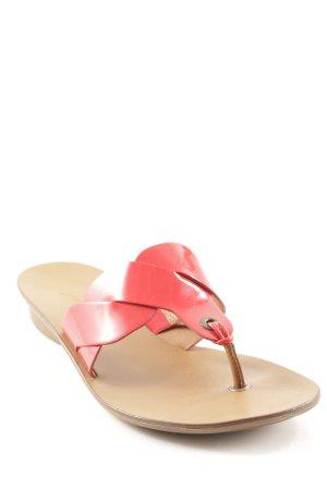 Paul Green Sandalo toe-post multicolore stile spiaggia