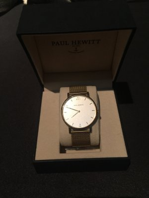 Paul Hewitt Watch With Metal Strap gold-colored
