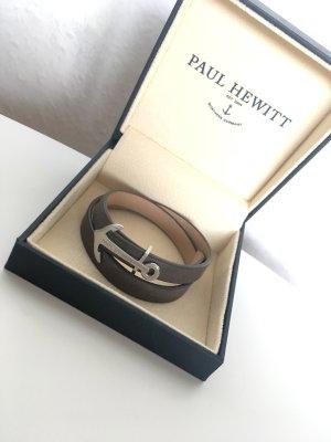Paul Hewitt Braccialetto sottile grigio-argento