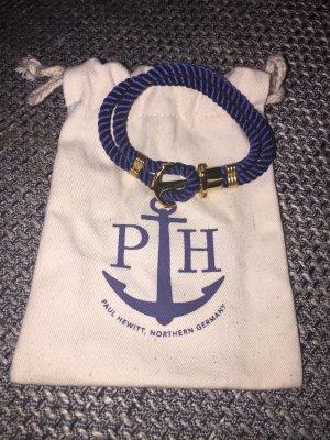 Paul Hewitt Armband mit Anker dunkelblau mit Anker 19cm NEU Sold Out maritime Impressionen