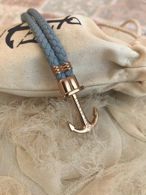 Paul Hewitt armband neu S blau Gold