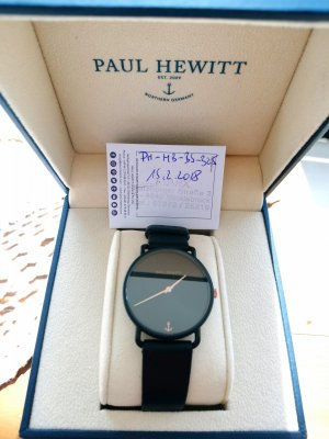 Paul Hewitt Armbanduhr Schwarz