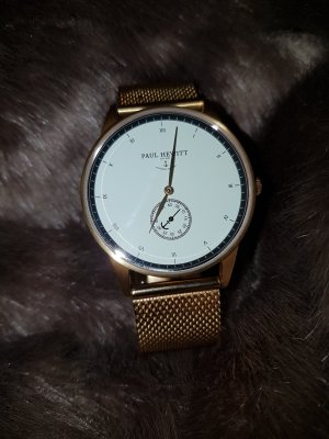 Paul Hewitt Analog Watch gold-colored