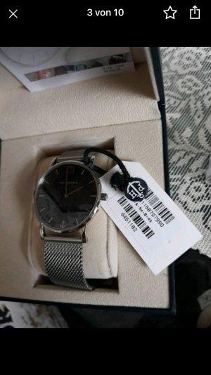 Paul Hewitt Horloge met metalen riempje zilver