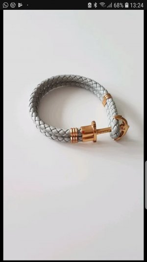 Paul Hewitt Leder Armband maritim Anker