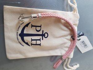 Paul Hewitt Phrep Leder Armband L rosa NEU OVP mit Etikett u. Staubbeutel