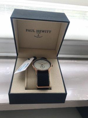 Paul Hewitt Reloj automático azul oscuro