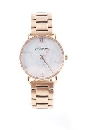 Paul Hewitt Horloge met metalen riempje veelkleurig elegant