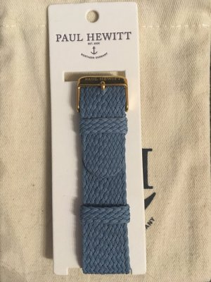 PAUL HEWITT Uhrenband Hellblau