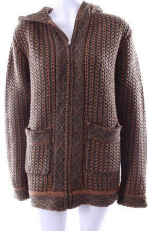 Paul & Joe Coarse Knitted Jacket dark green-beige wool
