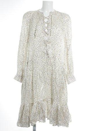 Paul & Joe Hemdblusenkleid Punktemuster minimalistischer Stil