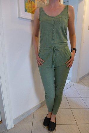 Paul & Joe Sister Blogger Overall Jumpsuit mint grün Leinen Gr. 36 (38)