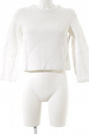 Paul & Joe Sister Cropped Shirt white structure style