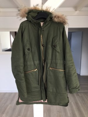 PAUL & JOE SISTER Jacky Parka in Kaki / army