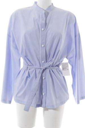 Paul & Joe Sister Langarmhemd himmelblau-weiß schlichter Stil